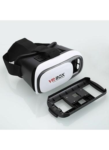 Techmaster VR Box Sanal Gerçeklik Gözlüğü + Bt Kumanda + Kulaklık Renkli